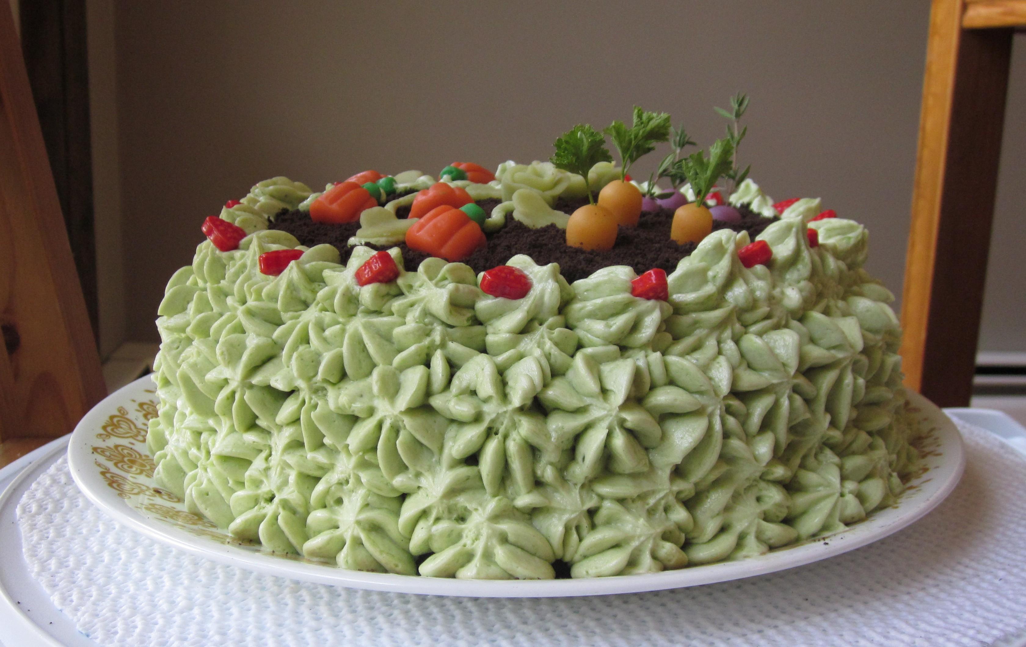 Garden cake leftover (5) | Sweet Leaf