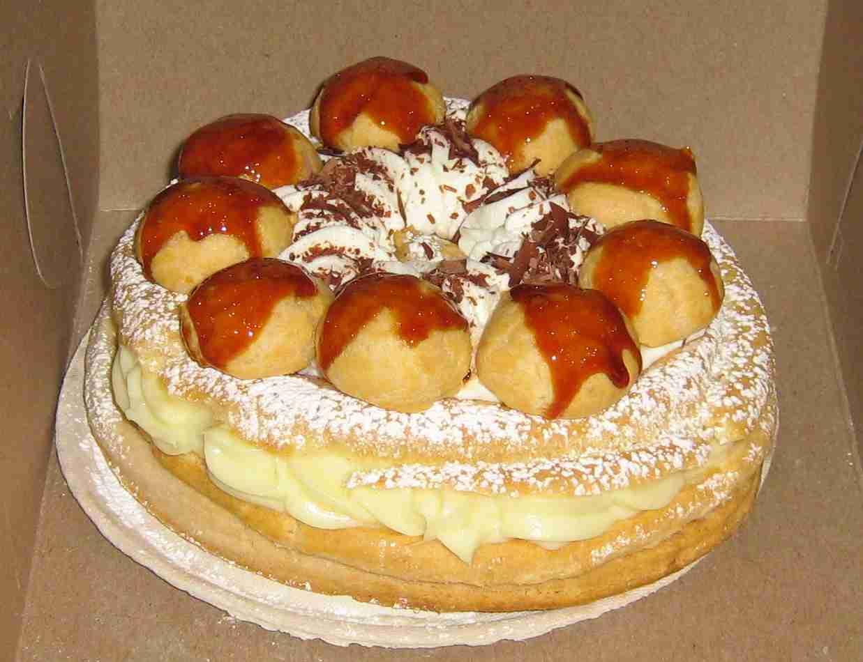 Gateau Saint Honore - We Dare You Recipe — Dishmaps
