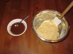 Cinnamon paste and dough.