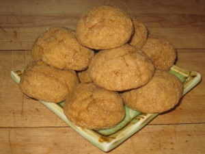 pumpkin molasses cookies (2)